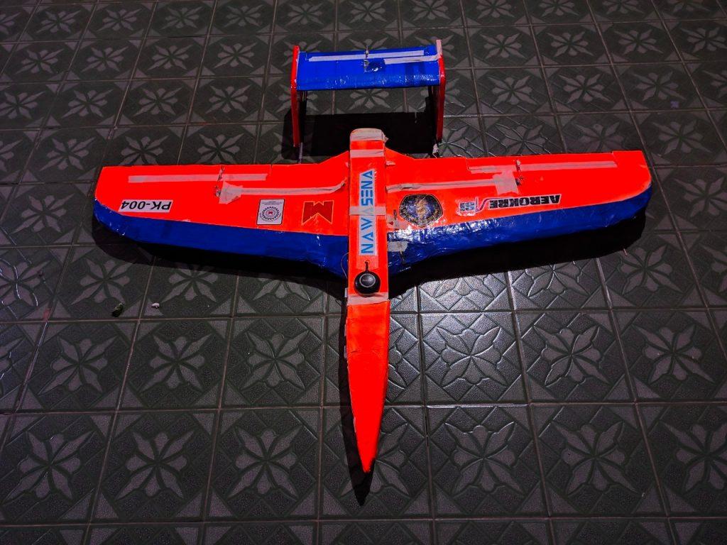 Pesawat Tim Aerokreasi Fakultas Teknik UB