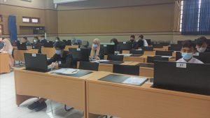 Pelaksanaan Ujian di Ruang Kapita Selekta FTUB