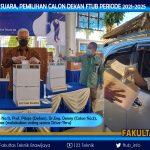 Pemungutan Suara dalam rangka Pemilihan Calon Dekan FTUB 2021-2025