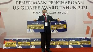 Fakultas Teknik Borong Separuh Penghargaan GIRAFFE Awards UB 2021